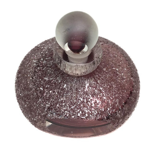 Textured Lavender Perfume Bottle - Image 2 of 4