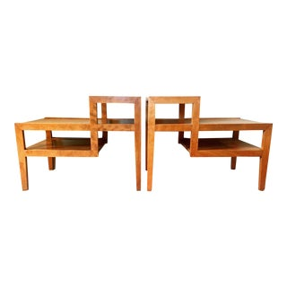 Conant Ball Step Up Side Tables - Pair
