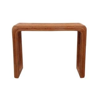 Gabriella Crespi Bamboo Hall Table