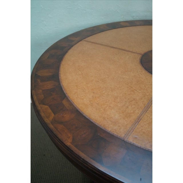 Jonathan Charles Windsor Collection Center Table - Image 6 of 10