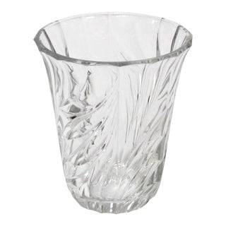 Val St. Lambert Crystal Vase