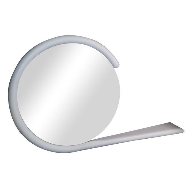 Karl Springer Post-Modern Hanging Mirror - Image 1 of 3