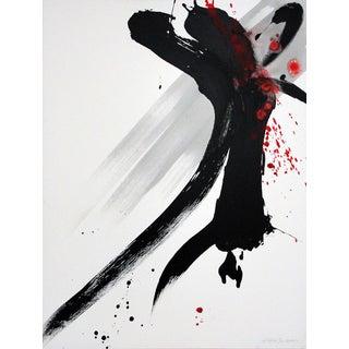Japanese Modern Calligraphy Art Acrylic on Canvas