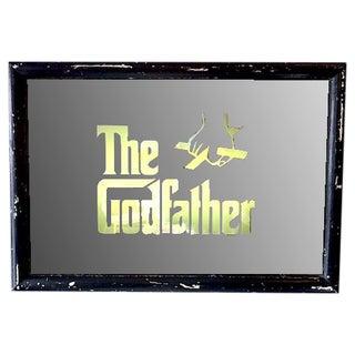 "Vintage ""Godfather"" Wall Mirror Light"