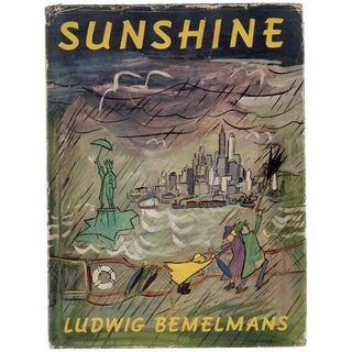"""Ludwig Bemelmans """"Sunshine: A Story About the City of New York"""" 1950 Book"""