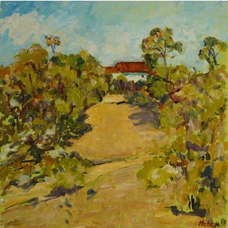 "Martha Holden ""Santa Barbara Horse Trails"" Painting"