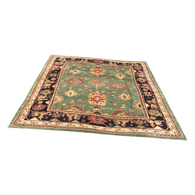 Large Handknotted Nepalese Rug - 9′ × 11′9″ - Image 1 of 11