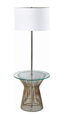 warren platner style laurel floor lamp