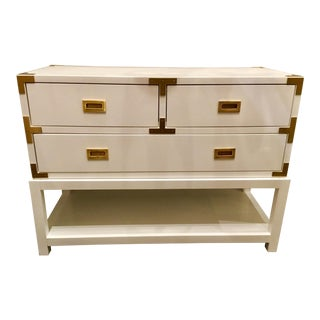 Bungalow 5 Julian White Lacquered Console