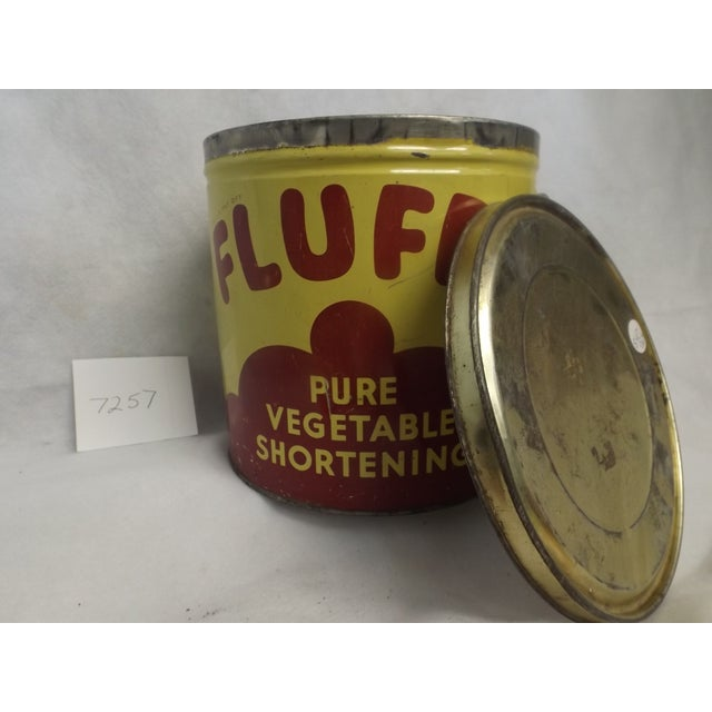 Fluffo Pure Vegetable Shortening Canister - Image 4 of 5
