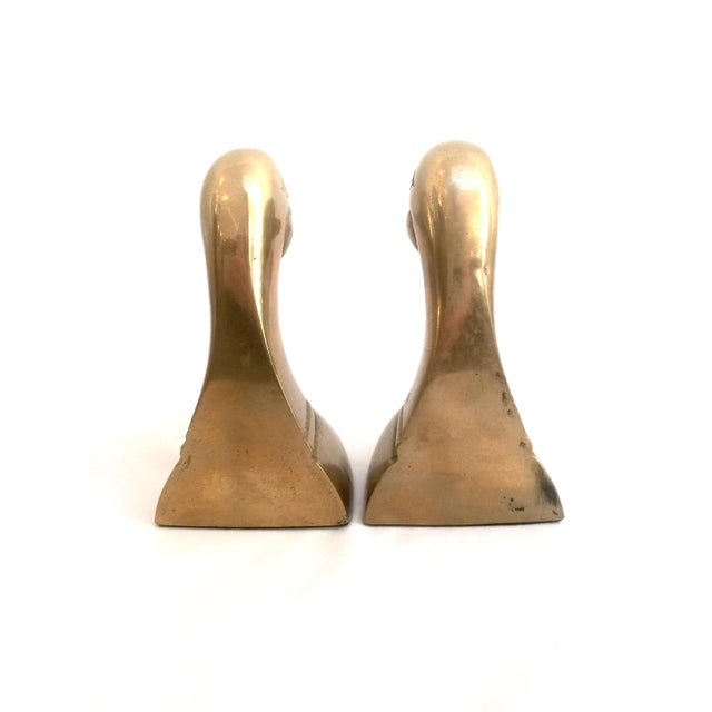 Brass Duck Bookends - Pair - Image 7 of 7