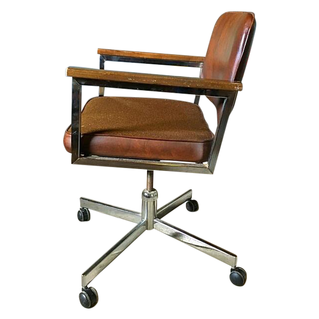 Vintage Rolling fice Chair