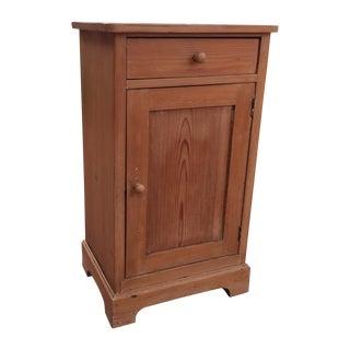Primitive Pine Cabinet