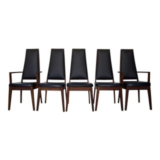 Mid-Century Modern Dining Chair - Set of 5