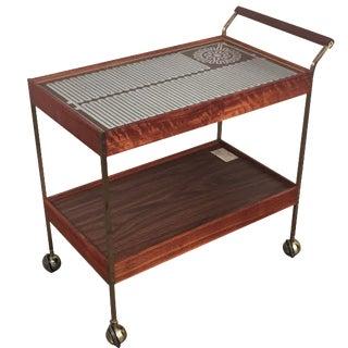 Mid-Century Modern Salton Hot Tray Cart