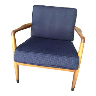 Folke Ohlsson for Dux Beech & Navy Chair