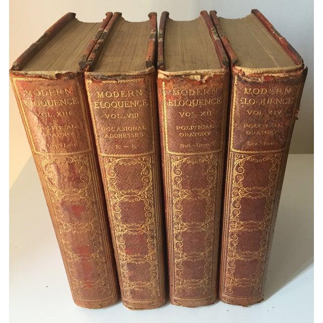 Decorative Antique Books - Set of 4 - Image 2 of 5