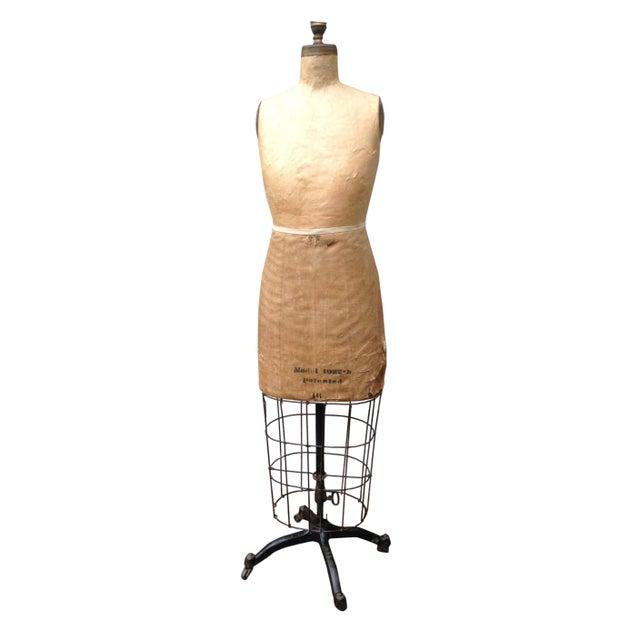 Antique Mannequin Dress Form /Palmenbergs - Image 1 of 7