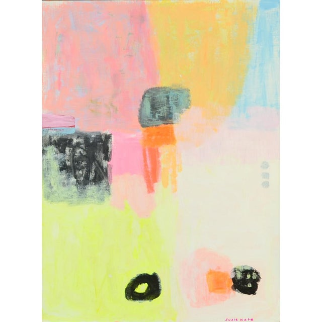 """Susie Kate """"Meditation"""" Original Abstract Painting - Image 1 of 3"""