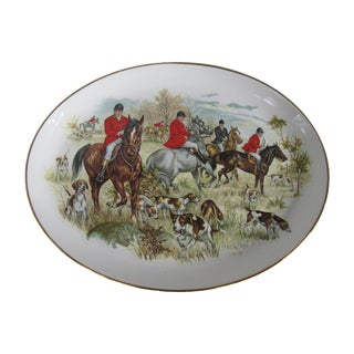 English Equestrian Platter