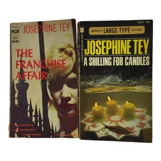 Josephine Tey Vintage Books - Pair