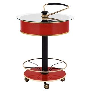 Italian Modernist Bar Cart