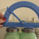 Image of Art Deco Jadeite Salt and Pepper Shaker Set