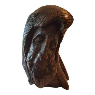 'The Mystic' Organic Modern Wood Sculpture