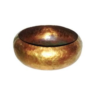 Vintage Hammered Copper Bowl