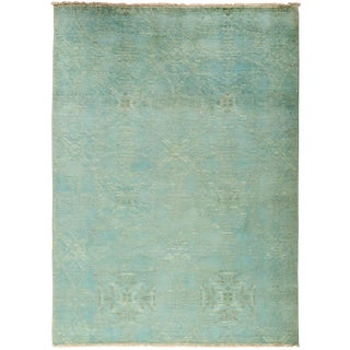 """Vibrance Hand Knotted Area Rug - 5'2"""" X 6'10"""""""