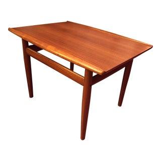 Grete Jalk Danish Modern Teak Side Table