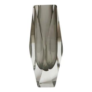 Modern Scandinavian Style Art Glass Vase