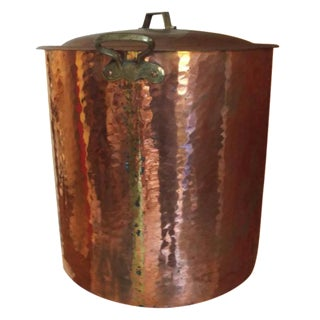 Turkish Copper Pot With Lid