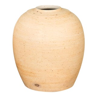 Sarreid Ltd. Vintage Unglazed Ceramic Vase