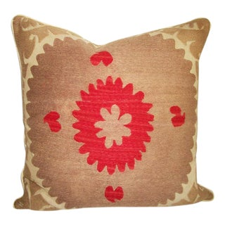 Vintage Suzani Bolinpush Accent Pillow II