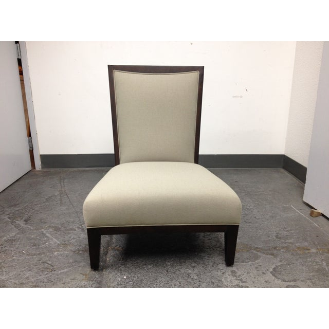 Contemporary Lorin Plain Lounge Chair - Image 8 of 9