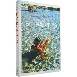 """In the Spirit of St. Barths"" Hardcover Book (Brand New)"