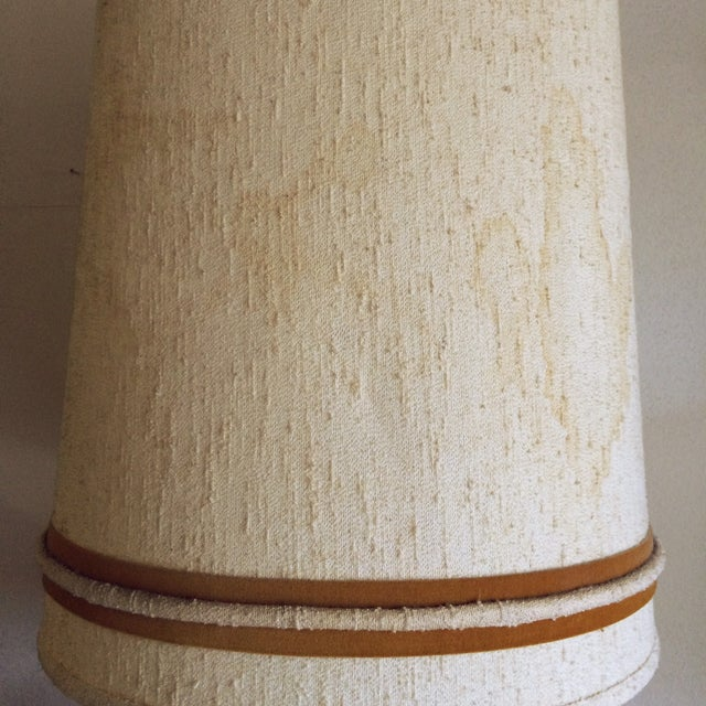 Image of Mid-Century Lava Drip Glazed Lamp