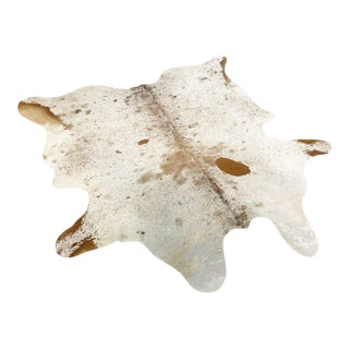 Red Speckled Cowhide Rug