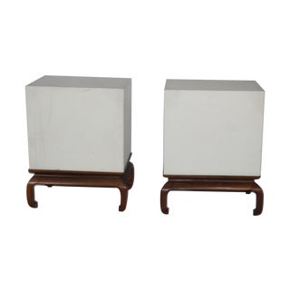 1960's Asian Style Stands - A Pair