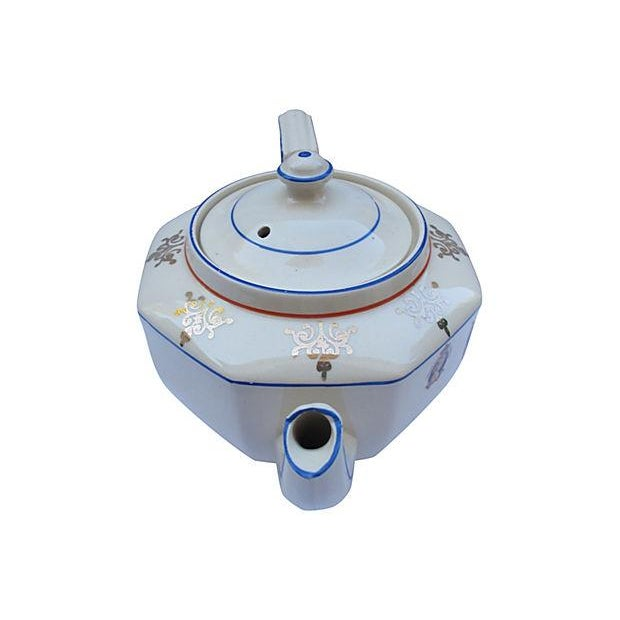 1937 King George VI Coronation Tea Pot - Image 2 of 5