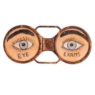 Vintage Eyeglass Sign