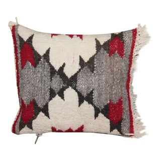 Early Small Navajo Indian Weaving Pillow