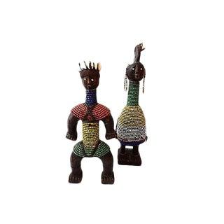 Namji Beaded Dolls, Pair