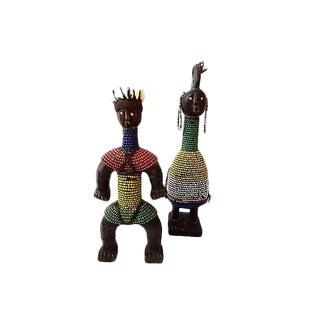 Namji Beaded Dolls, Pair