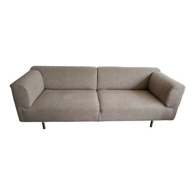 Cassina Met 250 Beige Sofa by Piero Lissoni - Image 1 of 10