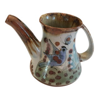 Mexican Vintage Ceramic Pitcher