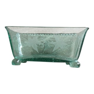 Early Blown Glass Compote