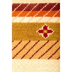 """Image of Striped Hand Knotted Area Rug - 2'1"""" X 2'1"""""""
