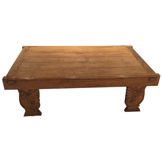 Asian Inspired Grand Coffee Table Chairish
